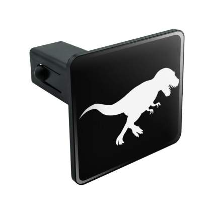 Graphics and more t-rex hitch cover