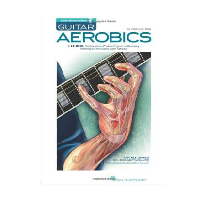 guitar aerobics guitar books for beginners