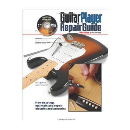 guitar player repair guide best guitar books for beginners