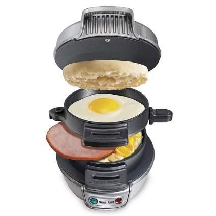 Hamilton Beach 25475A Breakfast Sandwich Maker Weird Gadgets