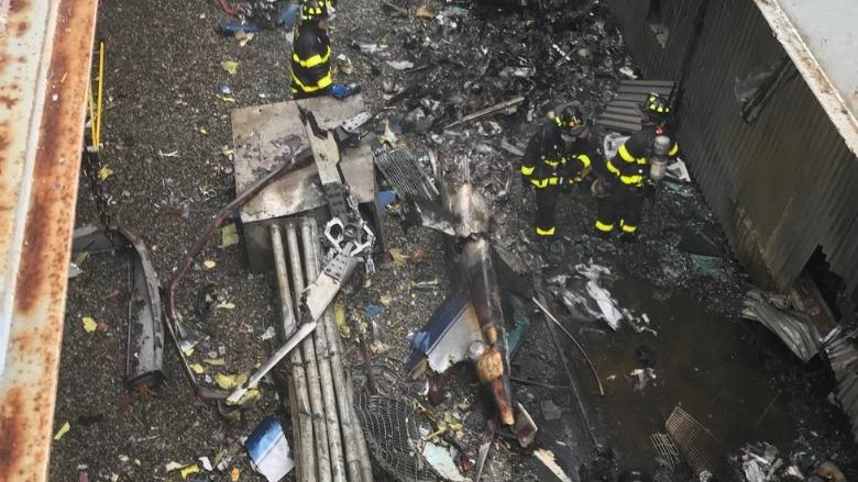 manhattan helicopter crash