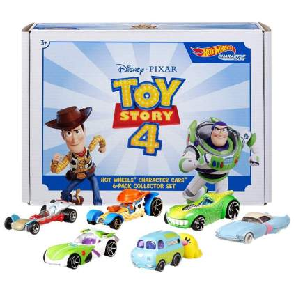 Hot Wheels Toy Story 4 Bundle Vehicles, 6 Pack (Amazon Exclusive)