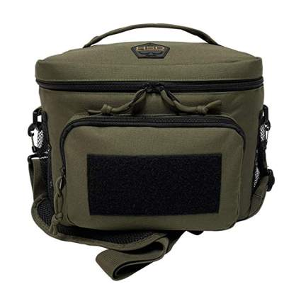green insulated tactical lunch bag