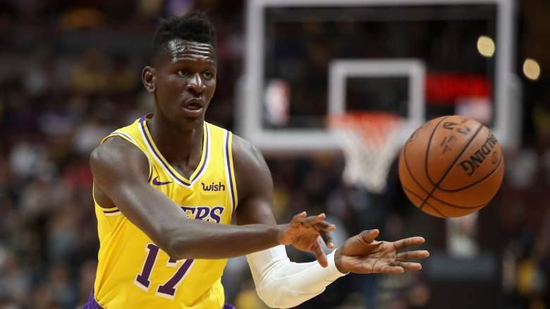 Isaac Bonga Lakers
