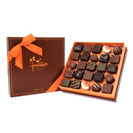 Brown Jacque Torres Chocolate box