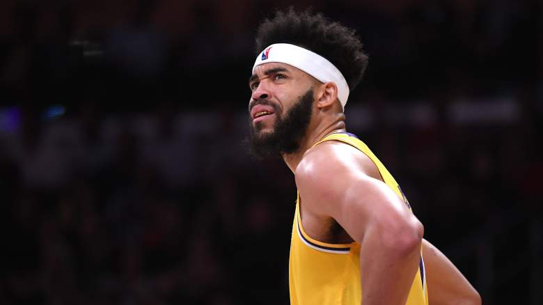 JaVale McGee Lakers Rockets