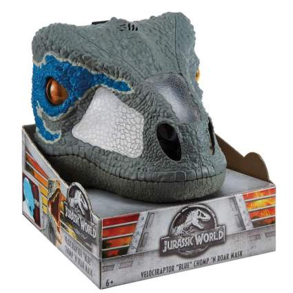 Jurassic World Chomp 'n Roar Mask Velociraptor: Blue