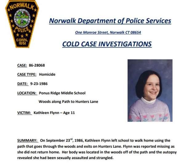 Kathleen Flynn Cold Case Poster