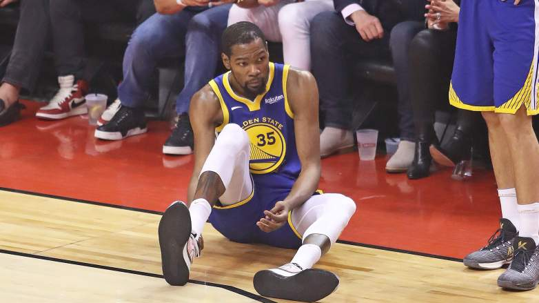 Kevin Durant injury ruptured achilles recovery timeline
