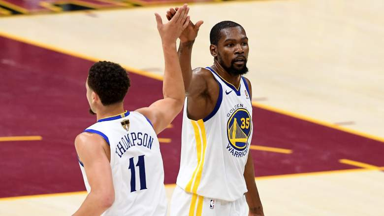 Lakers Kevin Durant Klay Thompson NBA free agency