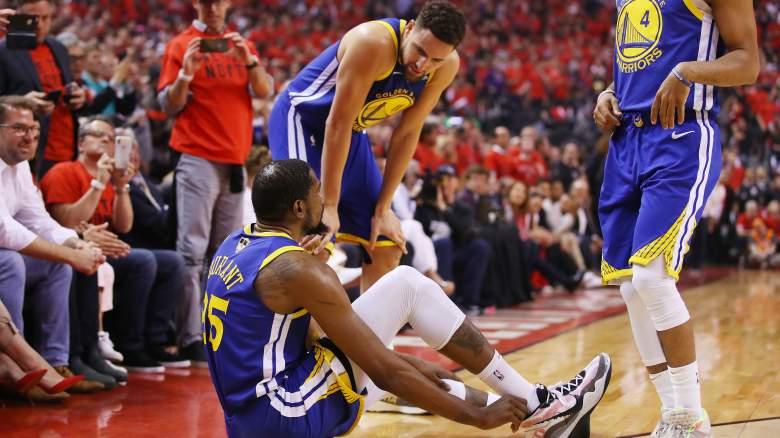 Kevin Durant Injury - Klay Thompson Impact