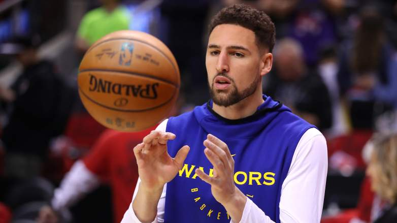 Klay Thompson injury update status video