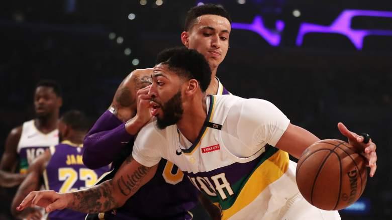 Kyle Kuzma Anthony Davis Lakers