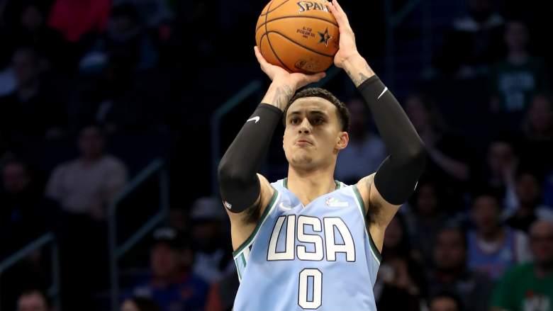 Kyle Kuzma USA Basketball Training Camp