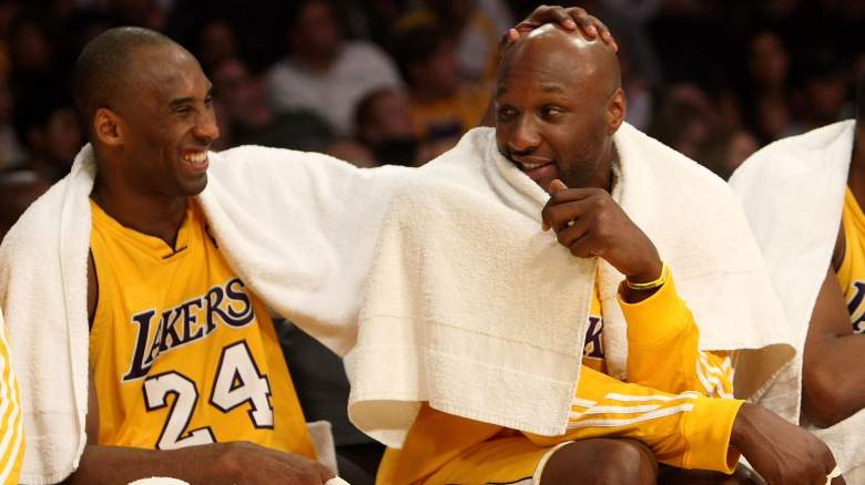 Lakers Kobe Bryant & Lamar Odom