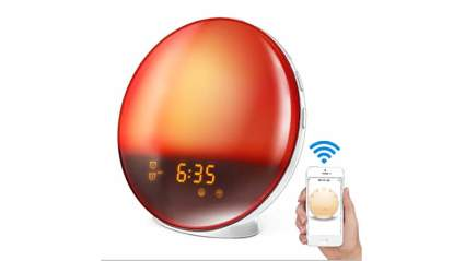 latme sunrise alarm clock