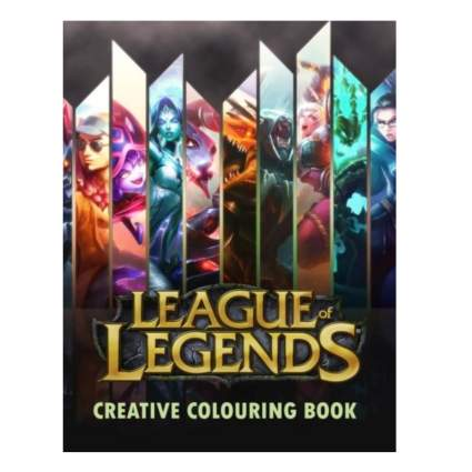 League of Legends Creative Coloring Book