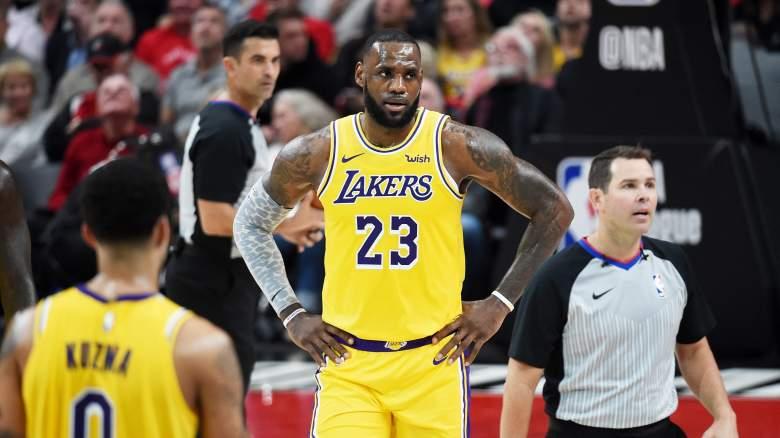 LeBron James Lakers NBA free agency