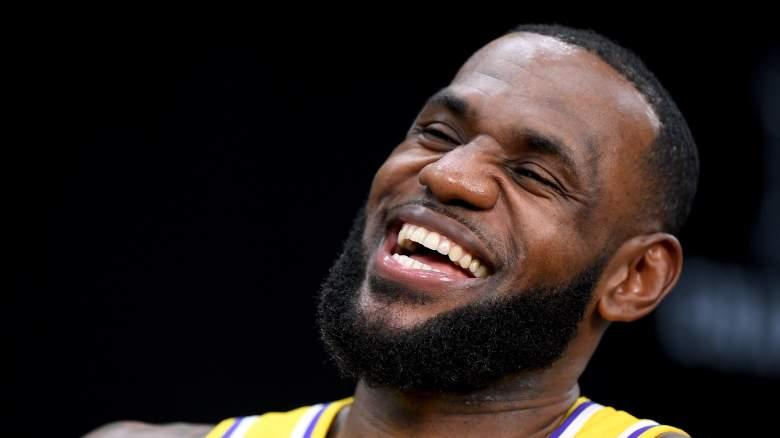 Lakers G-League Defends LeBron James