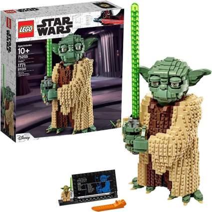 Building Model Yoda, it is