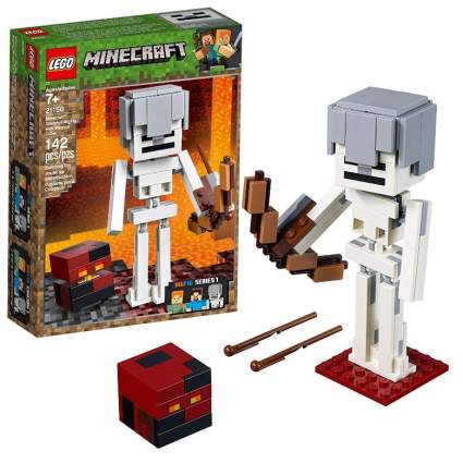 LEGO Minecraft BigFig Skeleton with Magma Cube