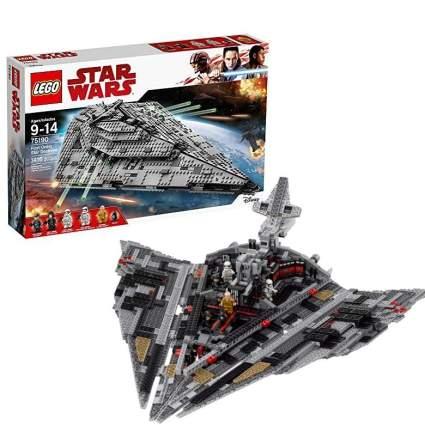 LEGO Star Wars VIII First Order Star Destroyer 75190 Building Kit
