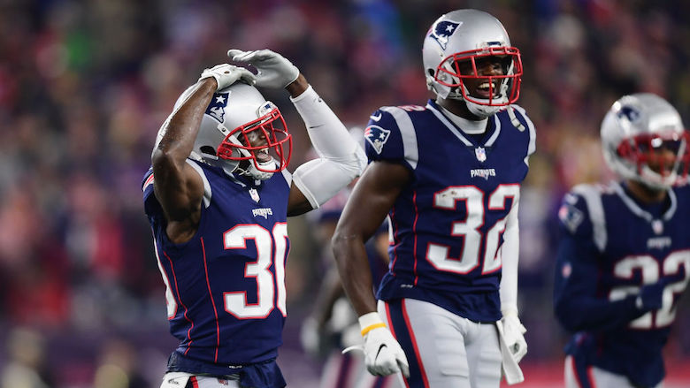 Jason and Devin McCourty Patriots