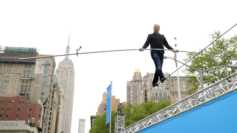 Watch Nik Wallenda Times Square Walk