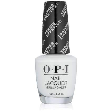 White nail polish from OPI