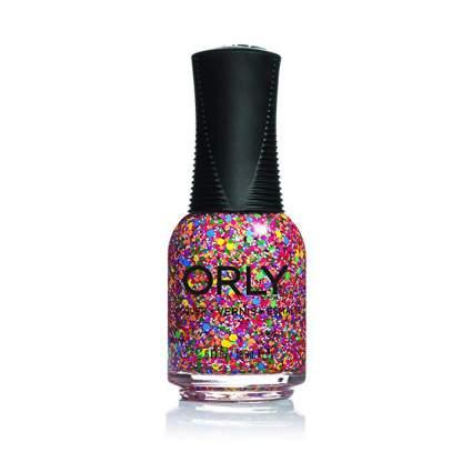 Orly glitter nail polish