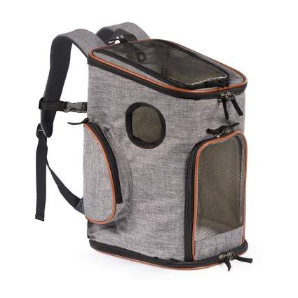 pawfect pets dog carrier backpack
