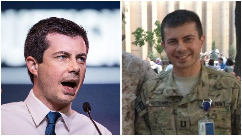 pete buttigieg military