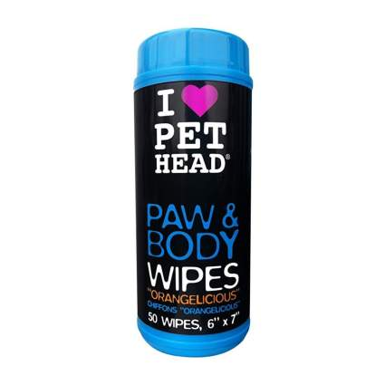 pet head pet wipes