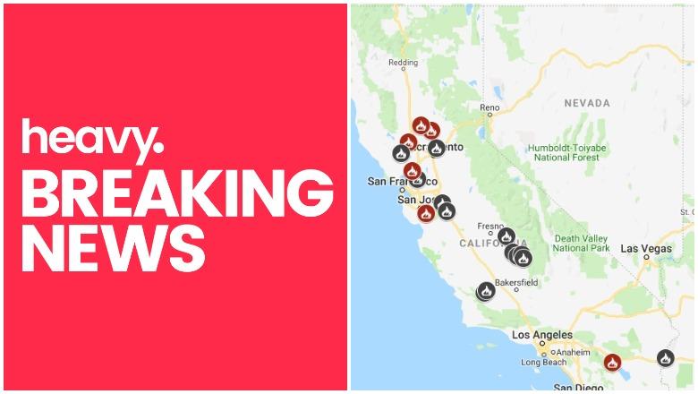 California Fire Map
