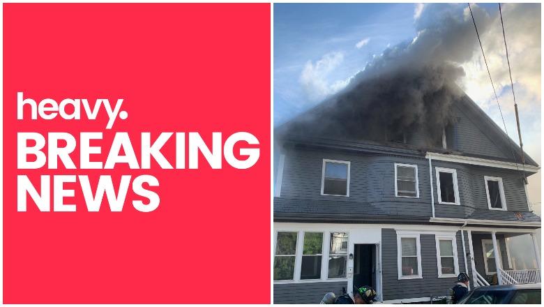 Fire in Dorchester Boston