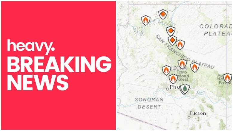 Arizona Fire Map Near Me