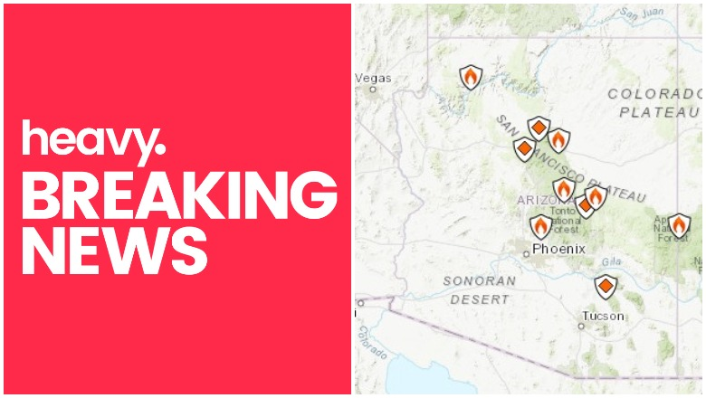 Arizona Fire Map
