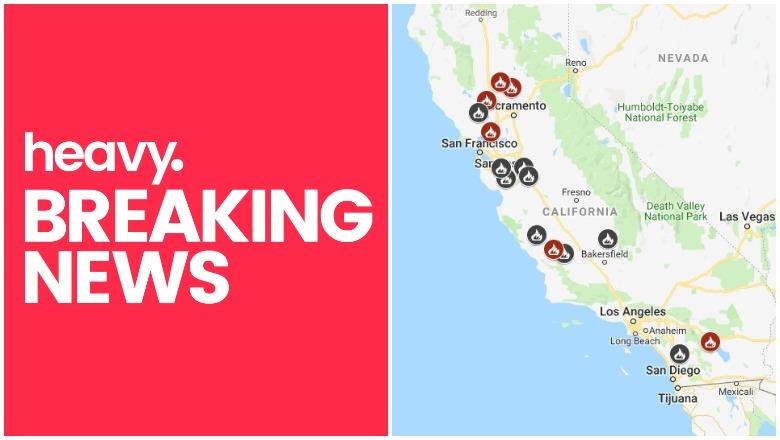 California Fire Map June 13