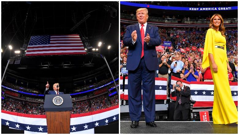 Trump Orlando Rally Crowd Size