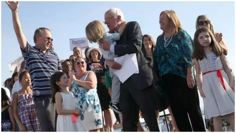 Bernie Sanders Family
