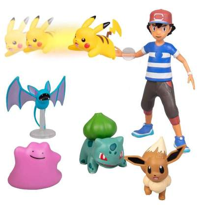 Pokémon Battle Figure Multi Pack Set with Launching Action
