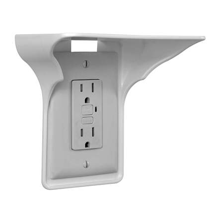 Power Perch Outlet Shelf weird gadgets
