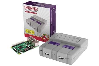 Rasptendo SNES Classic Inspired Raspberry Pi 3 B/B Plus Case