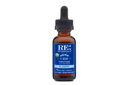 RE Botanicals CBD tincture