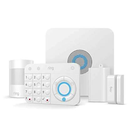 five piece home security system