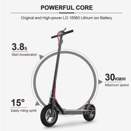 RND M1 Electric Scooter Creative Foot Control Foldable E-Scooter