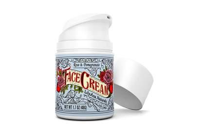 rose and pomegranate face cream