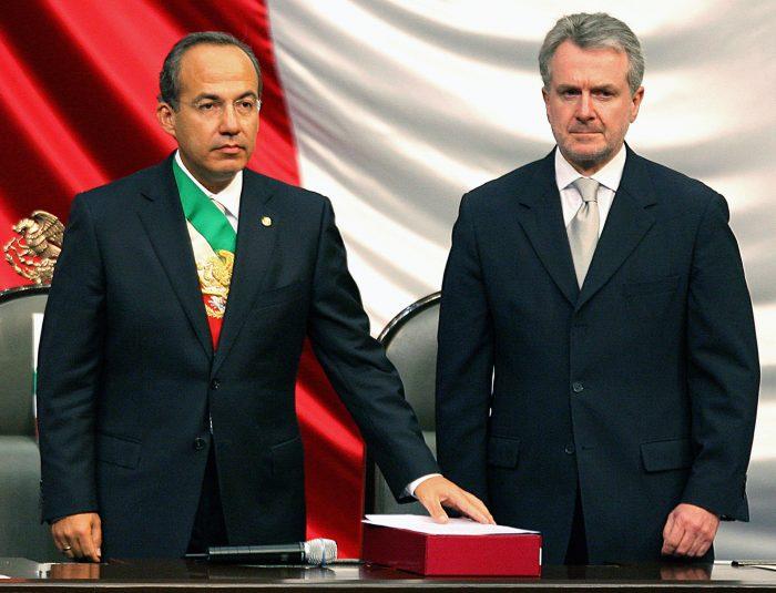 santiago creel and Felipe Calderón