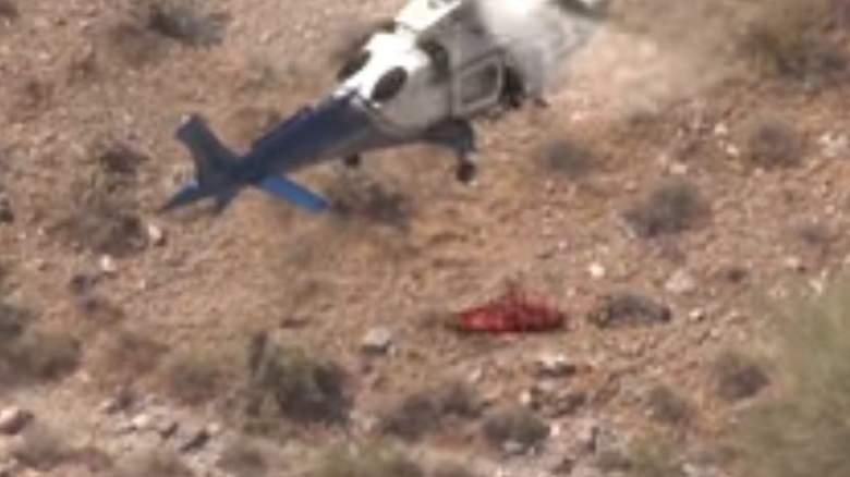 WATCH: Injured Hiker Rescued in Arizona