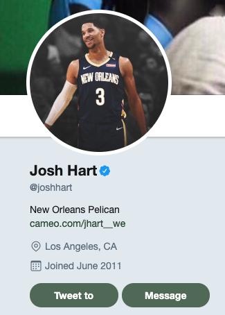 Josh Hart Pelicans trade